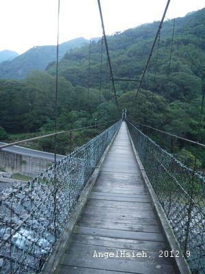 清泉一號吊橋(2012.9)