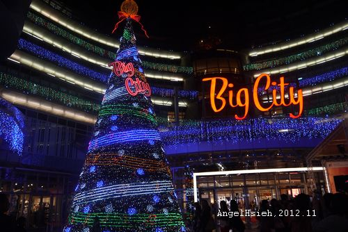 2012 BigCity聖誕樹