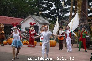 2012聖誕六福村