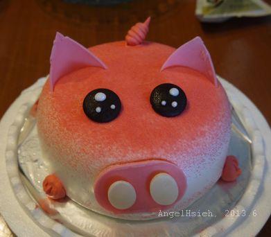 小玉米八歲生日蛋糕