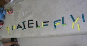 排了一堆字母(3y4m3w)