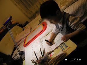 寫字中(2009.1)