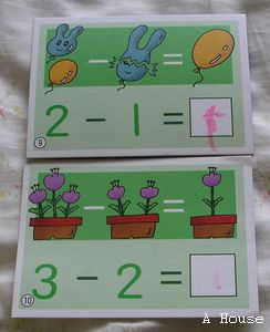 數學加法練習(3y6m)