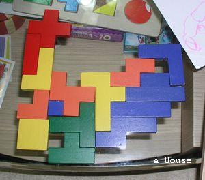 不知排什麼(magic puzzle, 3y6m)