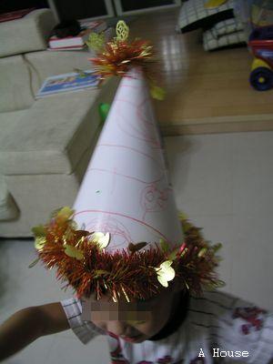 2009 Halloween party 帽子(4y4m)