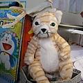 Alex做的麋鹿頭套(2009.12)