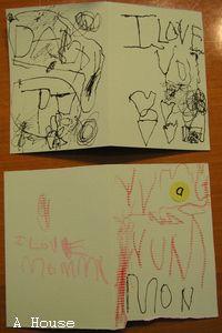 2009寫給媽媽的聖誕卡片