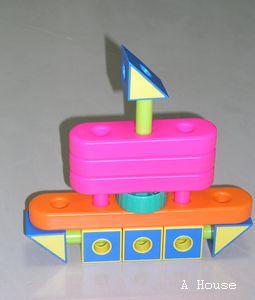 自己看說明書做的「船」(2009.12)