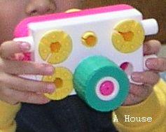 自己看說明書做的「照相機」(2009.12)