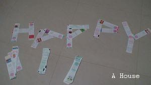 發票拼成HAPPY(4y8m)