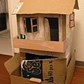 3歲爸爸做的生日禮物:小房子