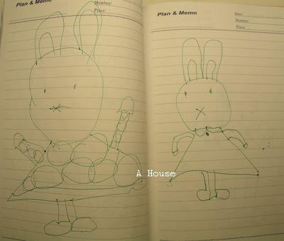 左:Miffy,右:好像是姨婆(3y8m)