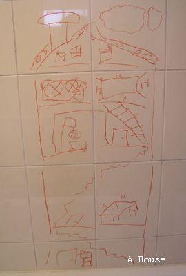 房子(2010.12) ,每吃完一餐就上一層樓,再吃下一餐。
