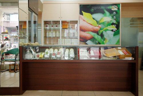 【香茶巷40號】紅茶門市櫃檯
