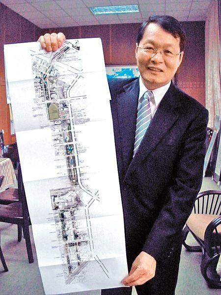 台中市政府副市長蕭家旗