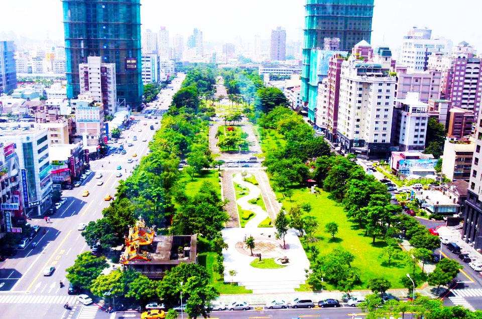 綠園道地景