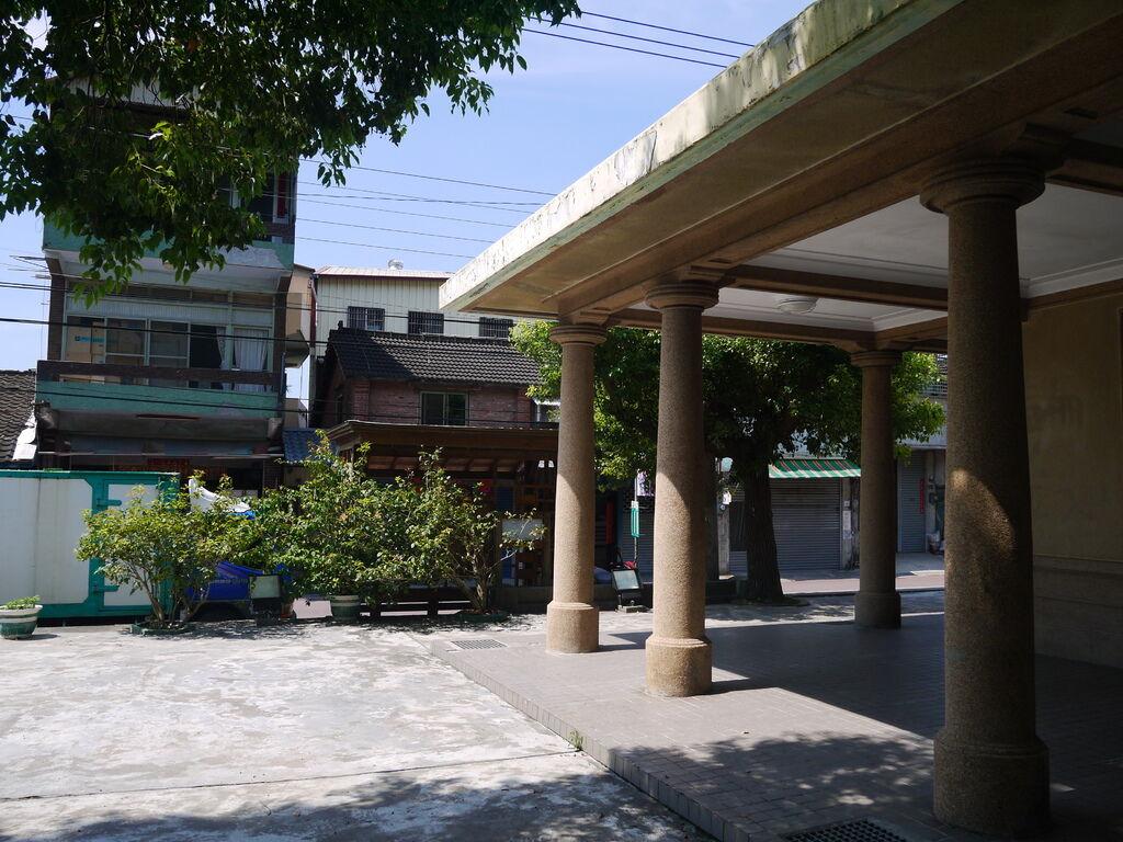 舊泰安車站售票大廳主體建築
