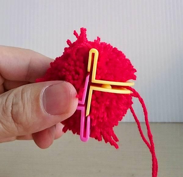 製作毛線球