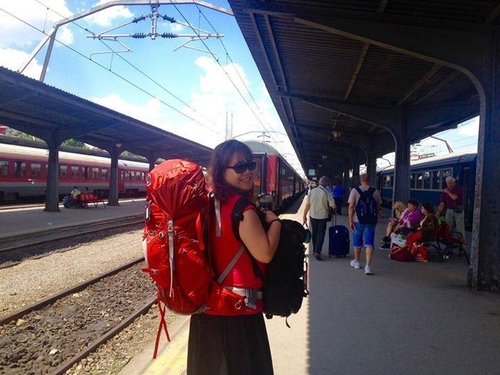 米雅和布加勒斯特火車站