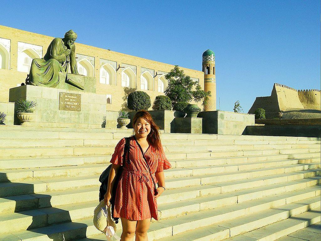 米雅在烏茲別克