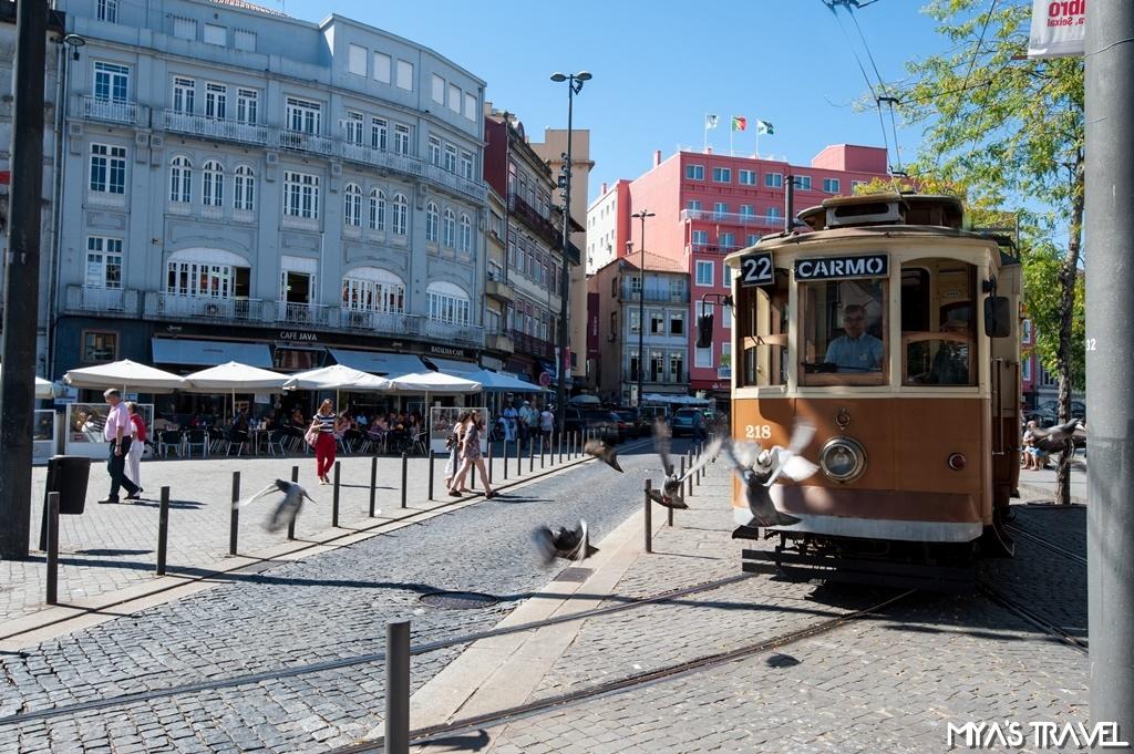 葡萄牙波多-黃色路面電車