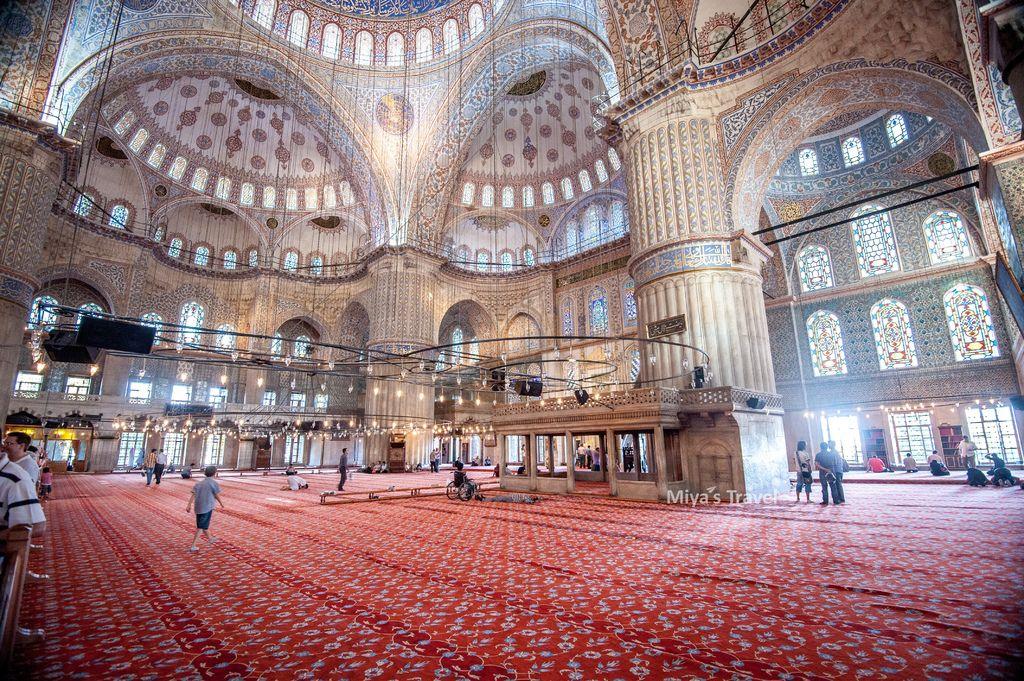 蘇丹艾哈邁德清真寺Sultan Ahmet Camii