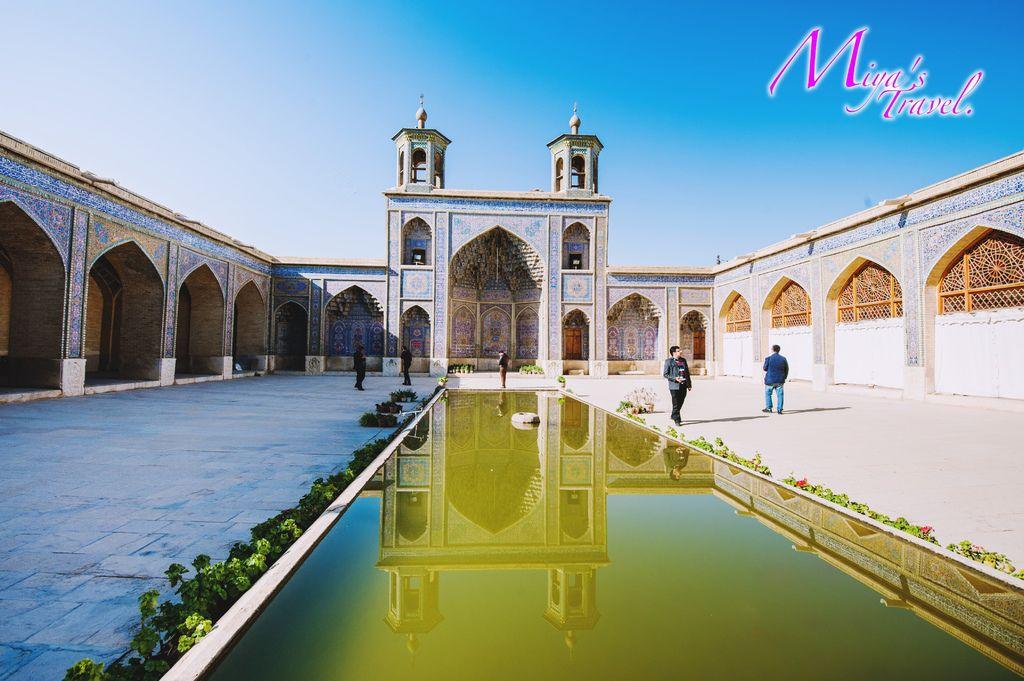 設拉子.莫克粉紅清真寺(又稱粉紅清真寺)Masjed-e Nasir-al Molk