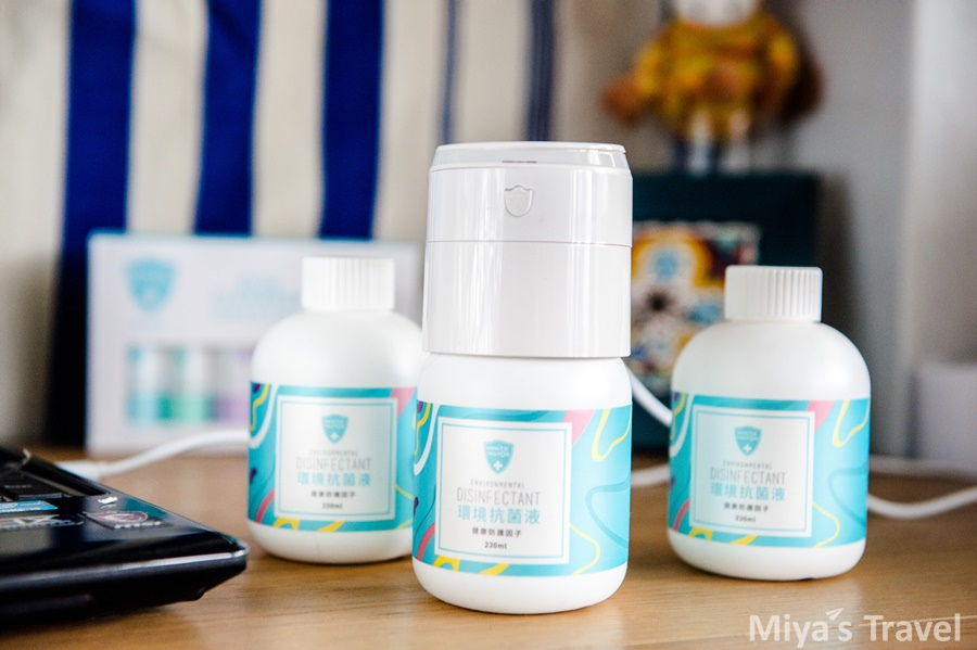 旅行小物∣開箱~隨身抗菌熱賣商品『白因子MINI霧化機』