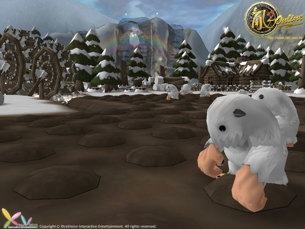 兔巢村的雪男2(logo)