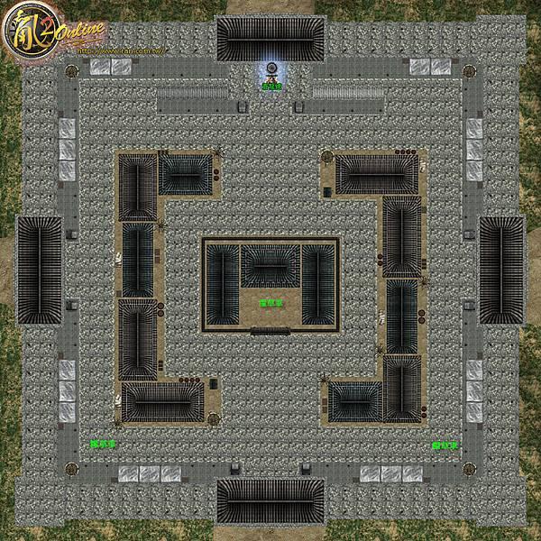 蒼城保衛戰-地圖