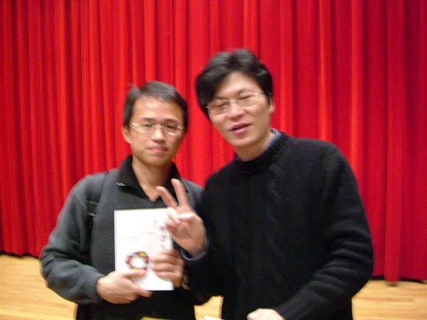 國際知名網路文學作家 ----- 痞子蔡與我
