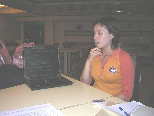 20051127 Selena's presentation
