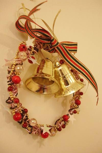 聖誕花圈-右看 Christmas wreath