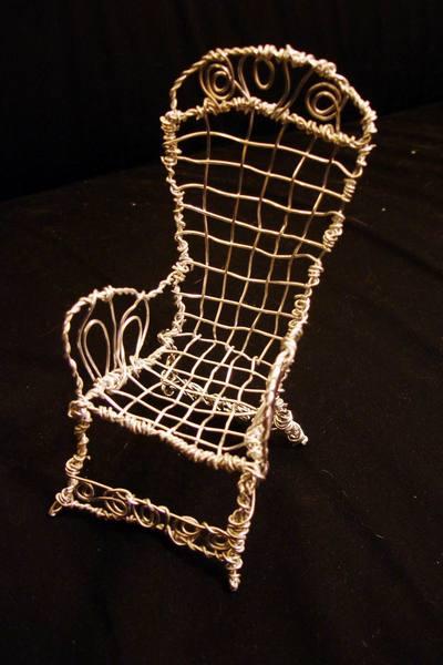 2008開春第一炮~鋁線椅