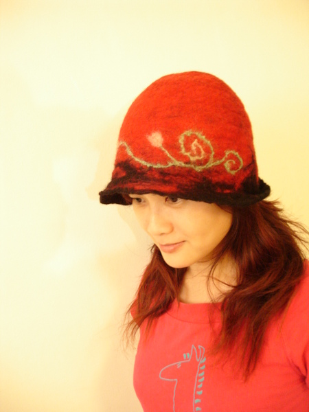 wear handmade hat