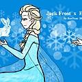 20140405 Jack Frost  X  Elsa