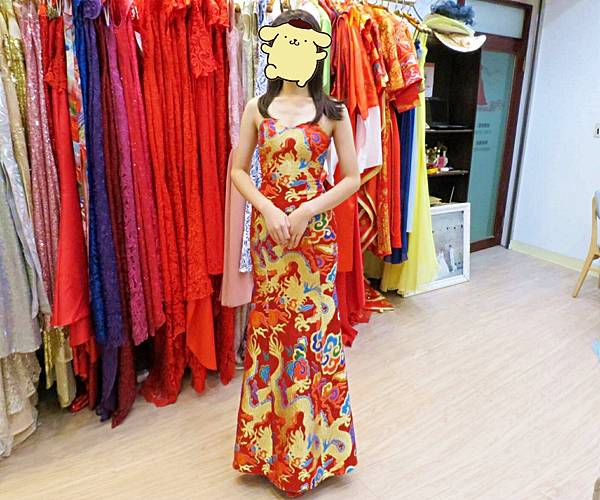 中式禮服出租