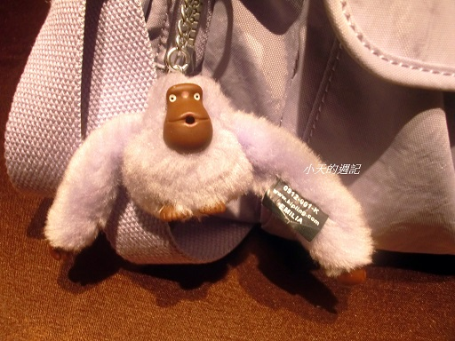 Kipling休閒包的小猴子