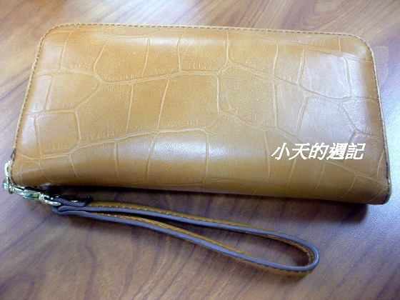 Fossil 真皮 長皮夾包