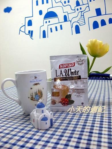 來自印尼的KOPIKO L.A.白咖啡正面照