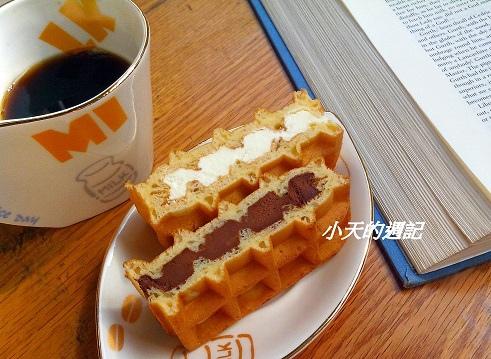 11. ㄧ期一會 奶油慕斯 & 黑巧克力慕斯鬆餅