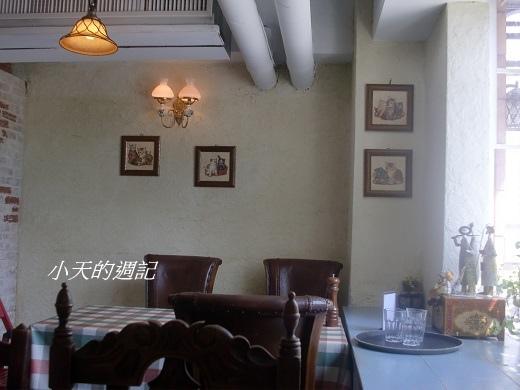 洋旗西餐廳一景