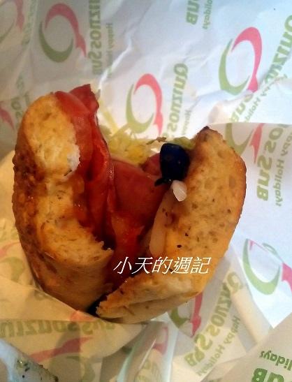 信義區Att4fun Quiznos香烤三明治