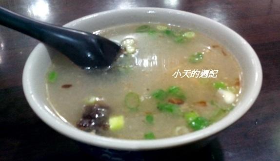 【251牛肉麵‧水餃‧餛飩】榨菜肉絲湯1