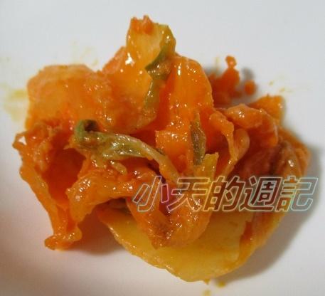 【試吃】幸福豚 紅麴養生黃金泡菜4.jpg