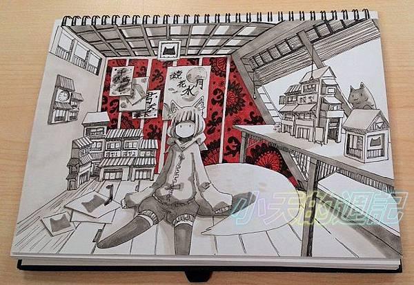 【課程體驗】優雅客原子筆畫插畫入門班 御音本主講1.jpg