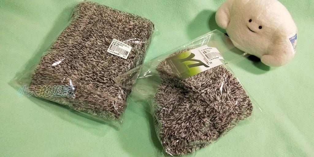 【試穿】皇家竹炭珍珠絨帽.圍巾1
