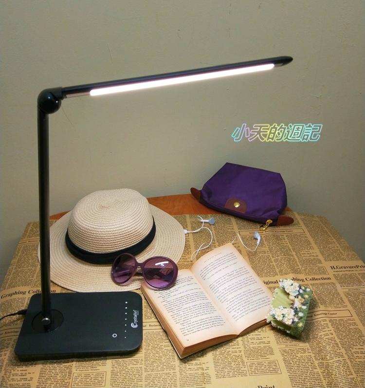 【3C‧試用】科麗護眼工作檯燈22