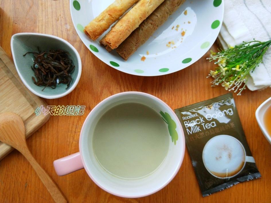 【試喝】金品茗茶幸福的滋味『直火黑の烏龍純奶茶』4.jpg
