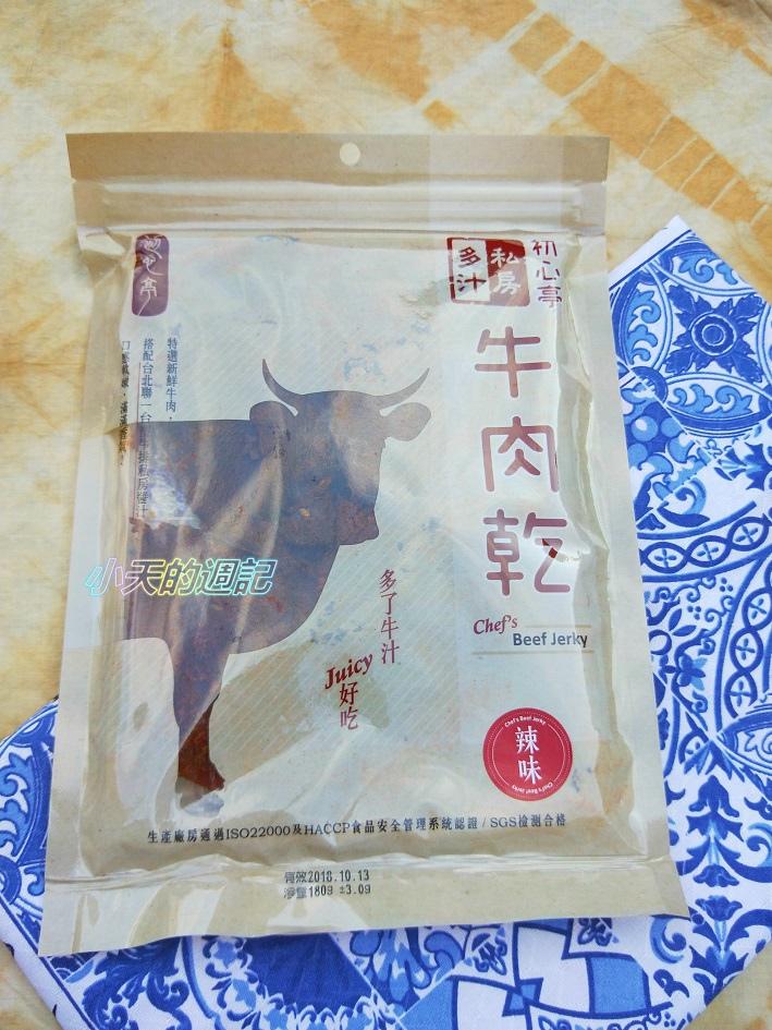 【試吃】初心亭 一起伴麵 牛肉乾 乾拌麵16.jpg